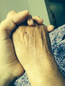 Arefa Hassani Photo_ Her mums wrinkly old hands copy