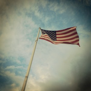 American Flag photo from Ben Duggan