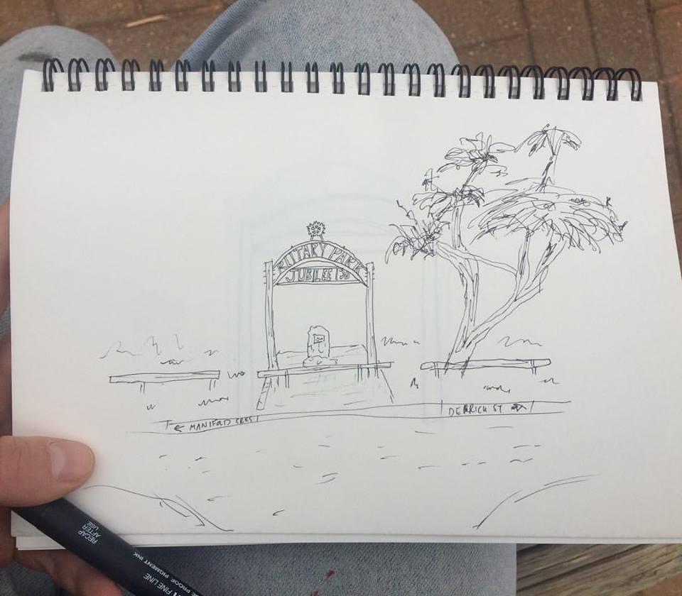 Alice Zine Drawing