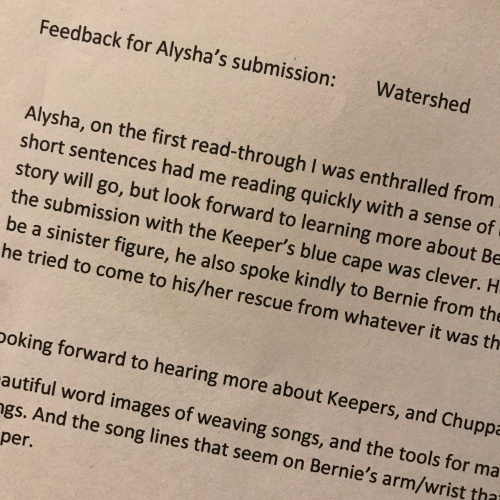 Watershed Feedback