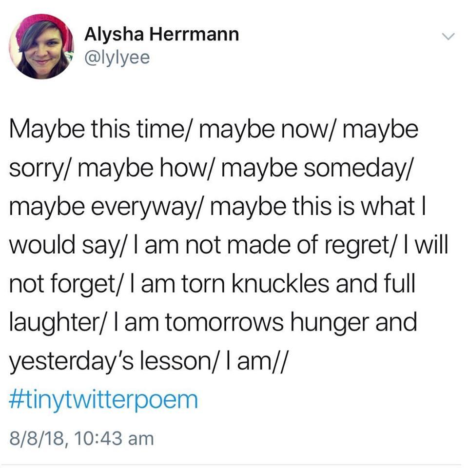aug 2018 tiny twitter poem
